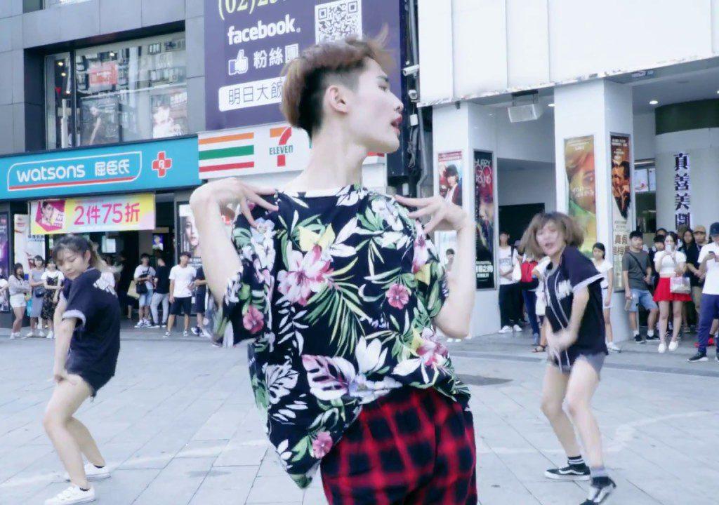 【鍾明軒】在西門町街頭熱舞-Lip&Hip dance cover