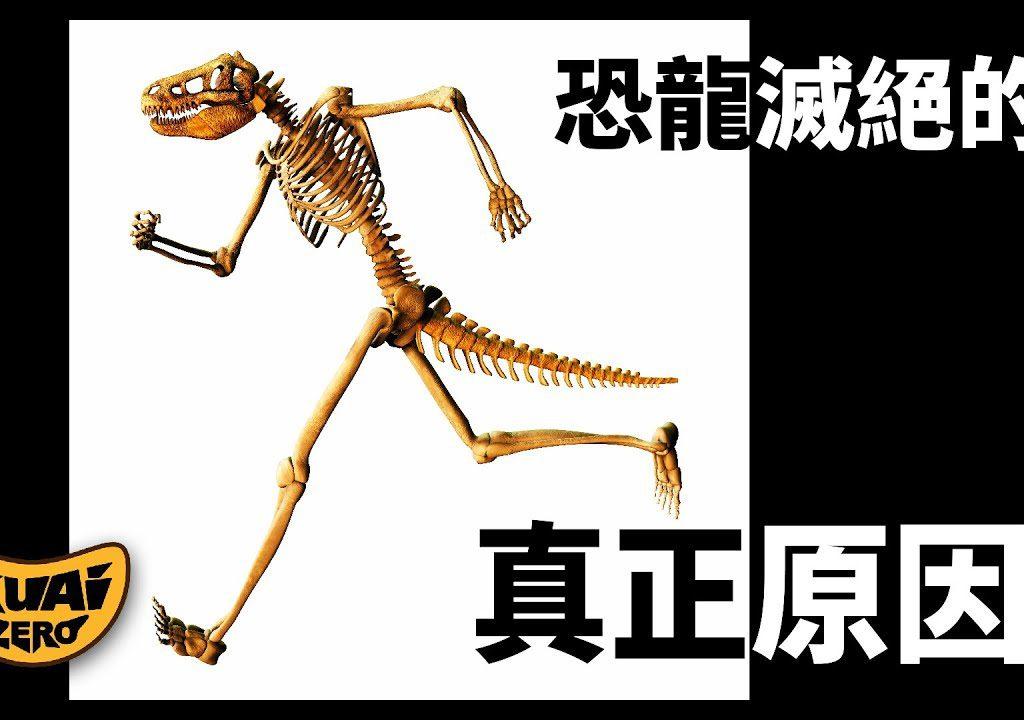 【KUAIZERO】恐龍滅絕的真正原因竟然是…?