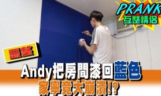 【眾量級CROWD】Andy把房間漆回藍色,家寧竟大爆發