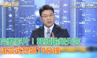 【setn 三立新聞網】謝震武飆罵 呼籲韓國瑜應謹慎發言