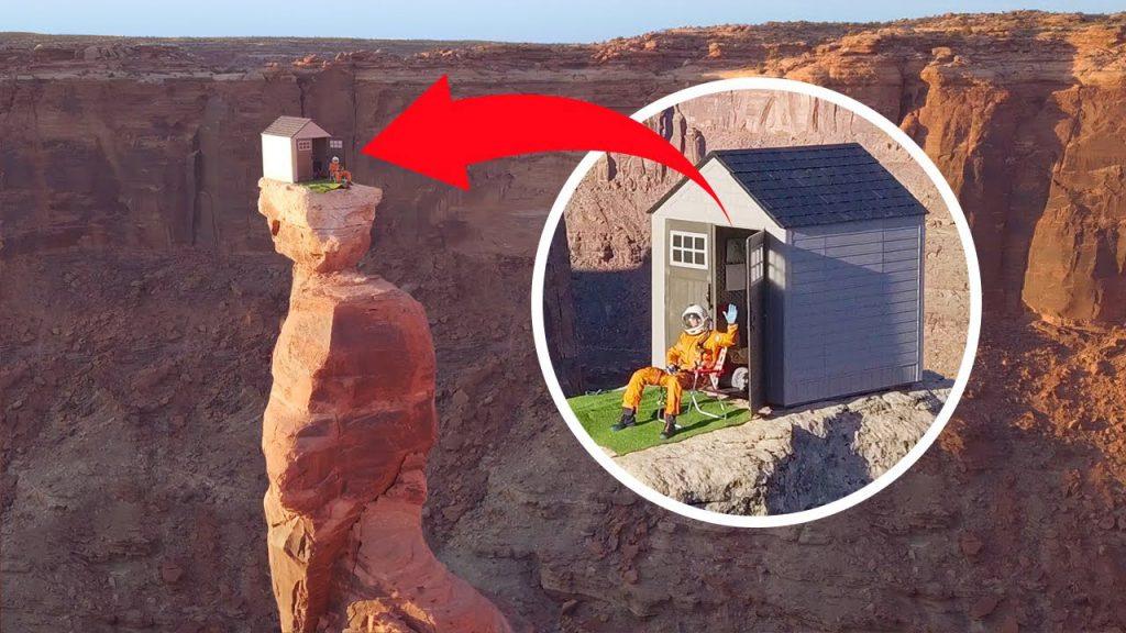 【信誓蛋蛋】真的假的?建了架空200公尺的小屋能躲避新冠病毒嗎