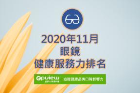 11月眼鏡健康服務力排行榜評析