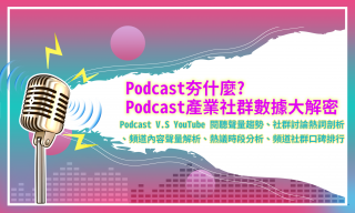 洞察報告》聲音市場大解密:從社群數據分析Podcast產業