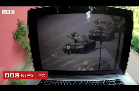【BBC News 中文】實際街訪!高達八成中國人未看過六四天安門「人擋坦克」照片