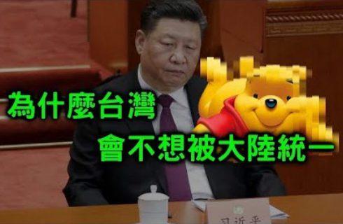 【蒟蒻講幹話】台灣人比大陸人多了哪五種自由?為什麼不想被統一?