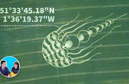 【老高與小茉 Mr & Mrs Gao】解析「麥田圈」竟可能是宇宙回傳之訊息?
