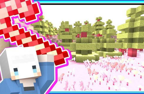 【小白】好想吃掉這裡!歡迎來到Minecraft糖果世界!
